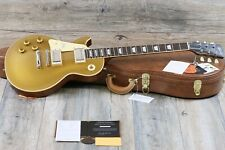 Unplayed! Gibson Custom Shop 1957 Les Paul Lefty Left Handed Gloss 2018 Goldtop