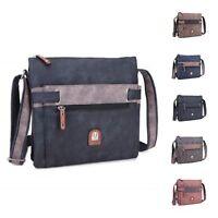 Ladies Multi Pocket Messenger Bag Cross Body Work Shoulder Bag Handbag M17660-1