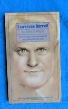 LAWRENCE DURRELL John A. Weigel Paperback Book 1966