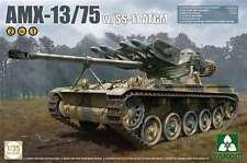 Takom 1/35 AMX-13/75 w/SS-11 ATGM French Light tank 2in1 Plastic Model Kit 2038