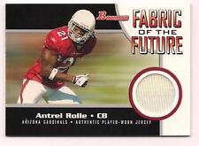 2005 Bowman Rookie Jersey Antrel Rolle Arizona Cardinals