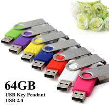 64GB USB 2.0 memoria  Flash Memory Stick Drive Thumb Pen Disk Disk Useful OT16G