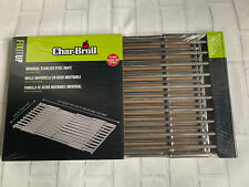 Charbroil Universal Stainless Steel BBQ Grill Grate Cooking Adjustable NEW