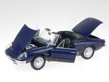 Alfa Romeo Spider Duetto 1600 1966 blue modelcar Leo 1:24