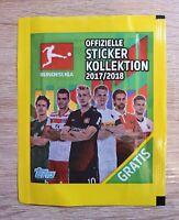 Topps 1 Tüte Bundesliga 2017 2018 Bustina Pochette Packet Pack Sobre Panini