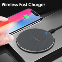 Qi Fast Wireless Charger Dock For iPhone X 8 plus XR XS Samsung S8 S9 plus Note9