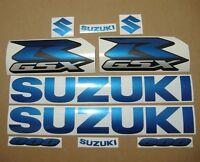 GSXR 600 blue pearl full decals stickers graphics kit set adhesives k1 k4 k6 k8