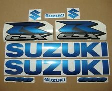 GSXR 600 blue pearl full decals stickers graphics kit set adhesives k1 k4 k6 k8