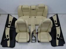BMW Série 5 E60 M5 siège arrière Sièges en cuir mérinos CHAMPAGNE