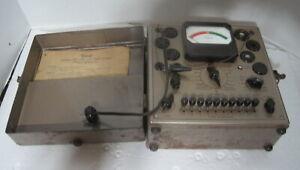 Triplett Model 2413 Tube Tester