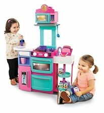 Little Tikes Cook N Kitchen Cuisine Pink With 32 Accessories