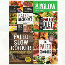 The Paleo Cookbook,The Paleo Diet for Brits,Paleo for Beginners, 4 Books Set