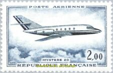 "EBS France 1965 Airmail Dassault ""Mystère 20"" MNH** YT PA42"