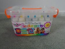 Tulip One-Step Tie-Dye Party Kit 36 Projects Brand NEW