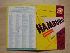 Falk Plan Hamburg, kleine Ausgabe, 1960. Ausschnitt Eidelstedt - Altona