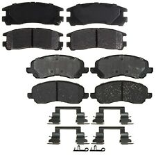 Front Rear Brake Pad Set Kit ACDelco For Sebring Stratus Eclipse 3.0L V6 2.4L L4