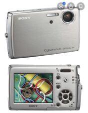Sony Cyber-shot DSC-T33 5.1MP Digital Camera - Silver
