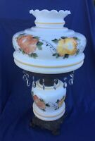 Vintage Floral Victorian Style Lamp 3 Way Lighting GWTW
