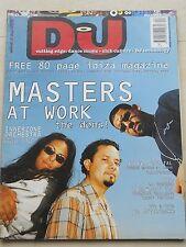 DJ N 44 1999 - SPACE DJ GEE JOSE PADILLA FREE 80 PAGE IBIZA MAGAZINE CARL CRAIG