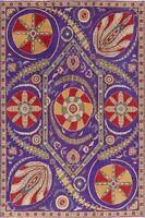 Art&Craft Super Kazak Oriental Area Rug Wool Hand-Knotted Living Room Carpet 6x9