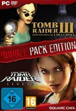 TOMB RAIDER Double Pack edition Legend + Teil 3 OVP NEU