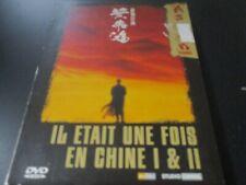 """COLLECTOR 2 DVD """"IL ETAIT UNE FOIS EN CHINE 1 & 2 I et II"""" Jet LI / Tsui HARK"""