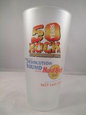Hard Rock Cafe 50 anni rivoluzione del suono VETRI SMERIGLIATI Pepsi Salt Lake City