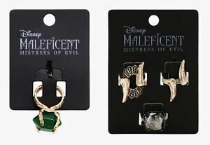 Her Universe Disney Maleficent Mistress of Evil stone ring replica & set size 7