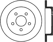 Disc Brake Rotor-Rear Disc Rear Right Stoptech 127.62058R