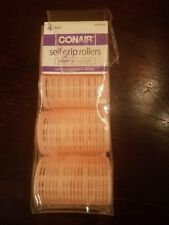 Conair 4 Large Self Grip Rollers_Pink_