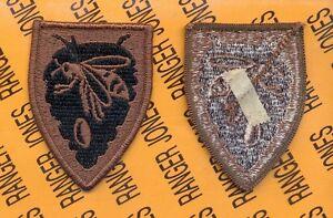 North Carolina Army National Guard ARNG OD Green & Black patch m/e