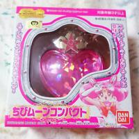 Used Sailor Moon Chibi Moon Compact Moon Crisis Make Up 2002 BANDAI Vintage
