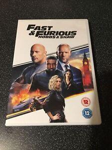 Fast & Furious Hobbs & Shaw Dvd