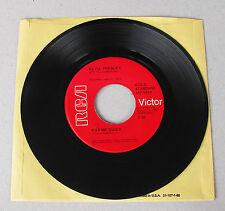 Elvis Presley 447-0639 Kiss Me Quick / Suspicion Rare Red Label * MINT *