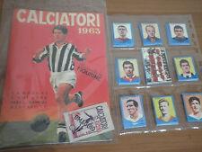Album figurine Calciatori Lampo 1963 Sivori Juventus + Set completo Anastatica