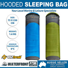 New OZtrail Leichardt Hooded 0C Winter Bed Outdoor Camping Hiking Sleeping Bag