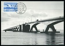 NETHERLANDS MK 1968 BRIDGES BRIDGE BRÜCKEN BRÜCKE CARTE MAXIMUM CARD MC CM be94