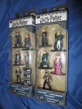 HARRY POTTER Jada Toys 5-Pack Nano Minifigs/Figure Lot~Hermione/Dumbledore/Draco