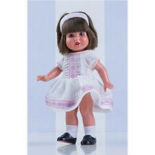 Mini Mariquita Pérez vestido cenefas blanco. (MM60050)