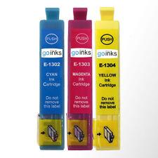 3 C/M/Y Ink Cartridges  for Epson Workforce WF-3520DWF WF-7525 Pro WF-7015