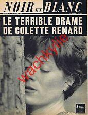 Noir et blanc n°1101 du 07/04/1966 Colette Renard Vaudé Cayenne oreilles percées