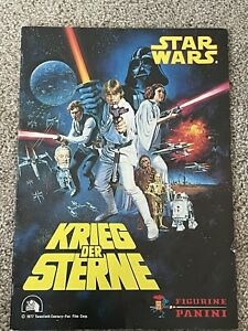 1977 Panini Star Wars 📈 Complete Set - All 256 stickers - unglued + empty album