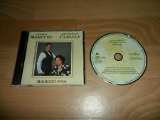 FREDDIE MERCURY & MONTSERRAT CABALLE - BARCELONA (RARE GERMAN 8 TRACK CD ALBUM)