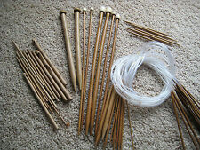 10 sets carbonized bamboo knitting needles,  Choose any kinds, any lengths