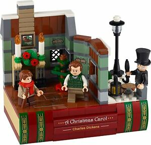 LEGO CHARLES DICKENS TRIBUTE (40410) A Christmas Carol (Brand New & Sealed)