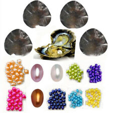 Hot  Seawater/Freshwater Individually Wrapped Akoya Oysters Pearls Jewelry 10PCS