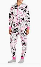 Popular Hello Kitty Non Footed Pajamas One Piece S L or XL One Piece Fleece NWT