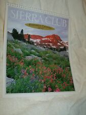 NIB Cnd 2012 Sierra Club Wilderness Wall Calendar Nature Vistas Environmental Mb