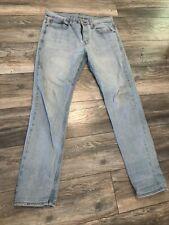 New listing LEVI'S 502 TAPER LEG REGULAR FIT JEAN Stretch Denim 32 x 34 Blue  jeans