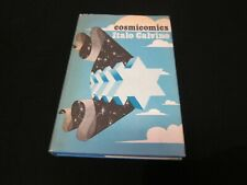 Cosmicomics - Italo Calvino -1st UK Press 1969 Hardcover with Dust Jacket - RARE